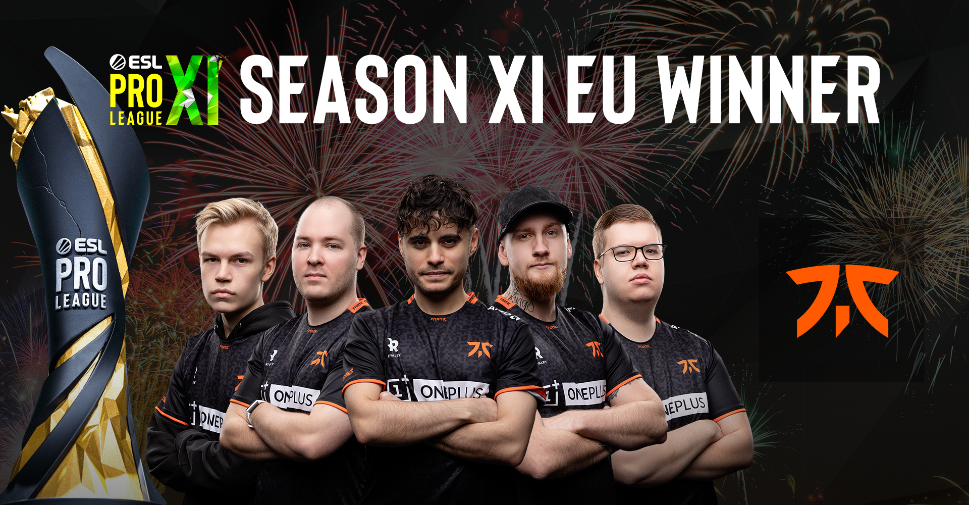 ESL PRO LEAGUE SEASON 11: EUROPE ŞAMPİYONU FNATIC!