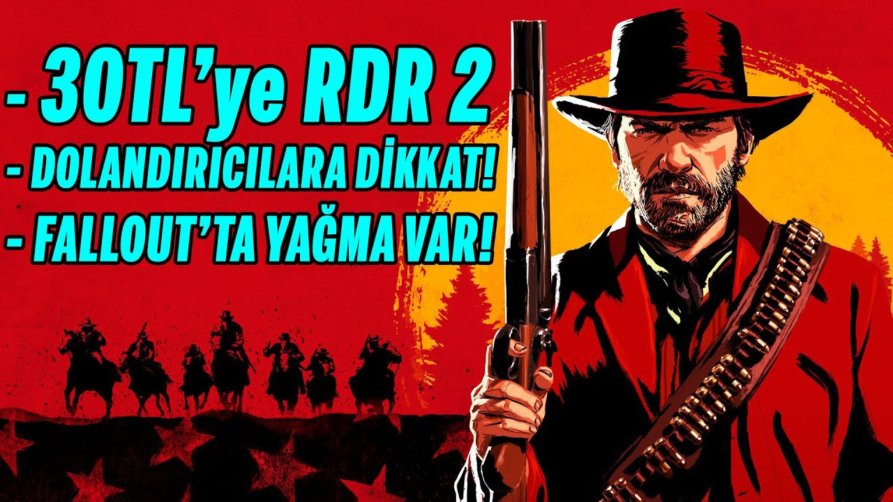 30 TL'YE RED DEAD REDEMPTION 2! (XBOX GAME PASS'te)